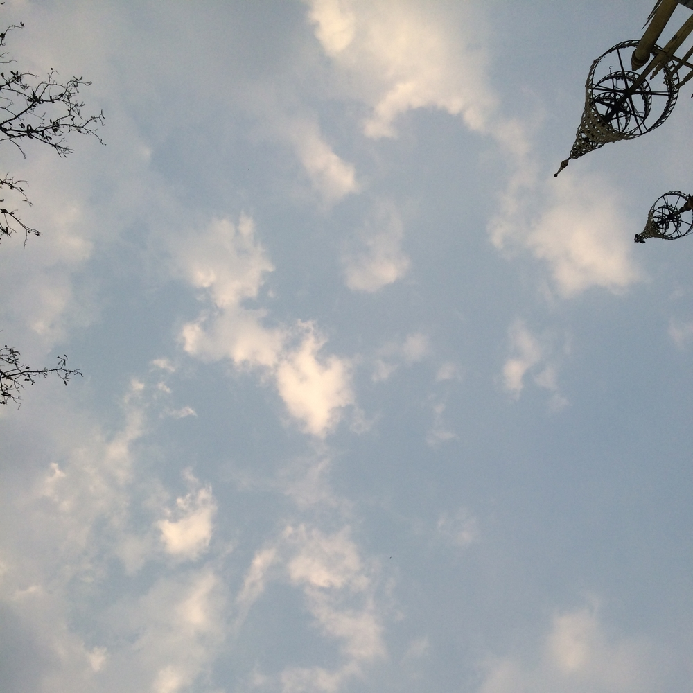 Sky above Luang Prabang, Laos - March, 2015