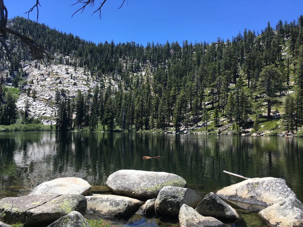 Granite Lake near South Lake Tahoe - July 2016