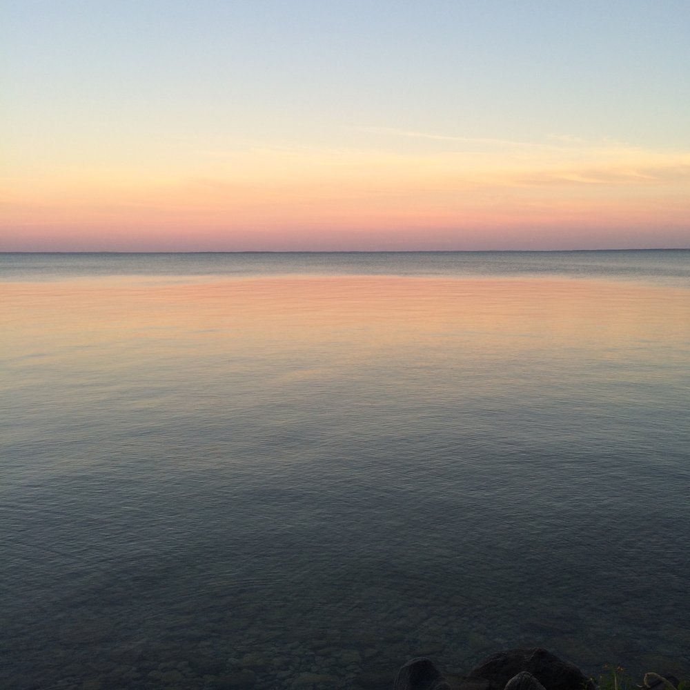 Lake Simcoe in Ontario, Canada - August 2016
