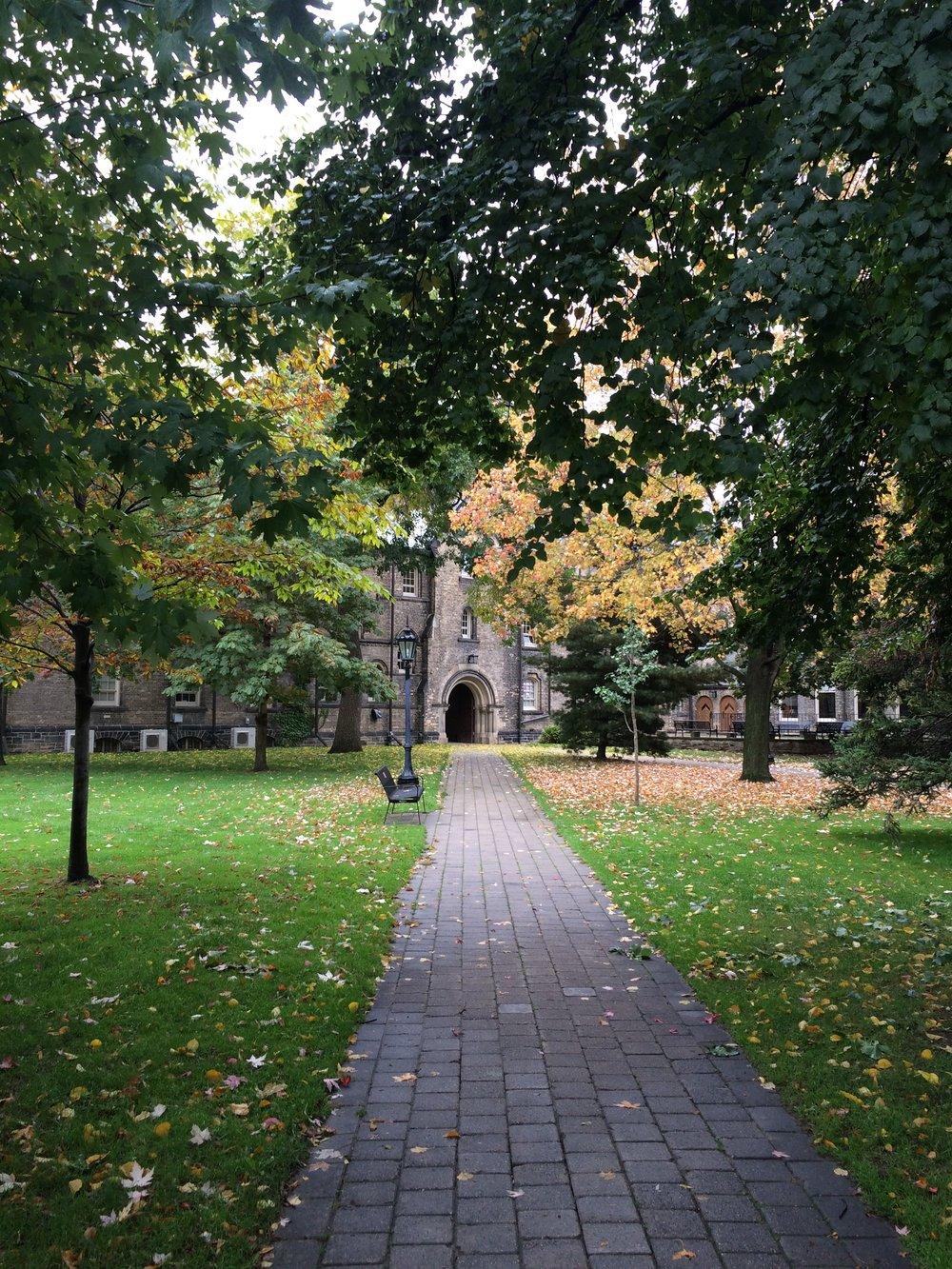University of Toronto - October 2016