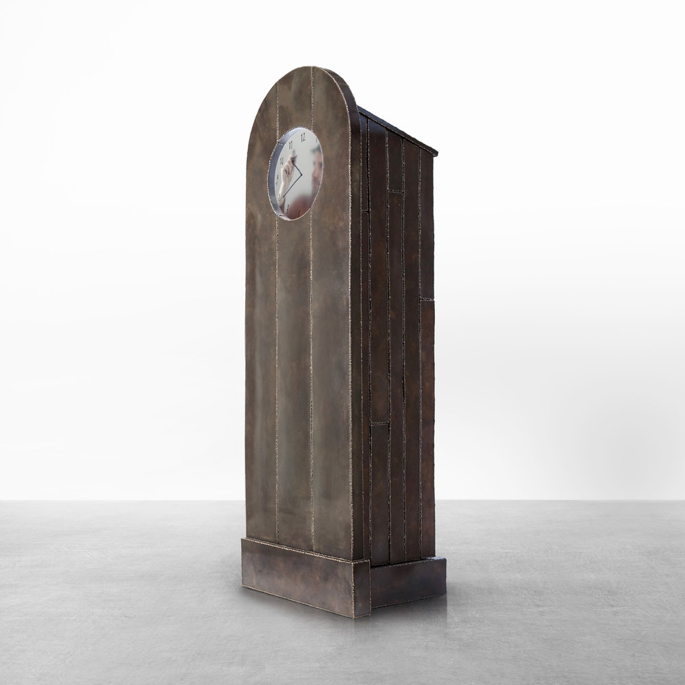 MAARTEN BAAS  GRANDFATHER CLOCK SELF PORTRAIT | 2015