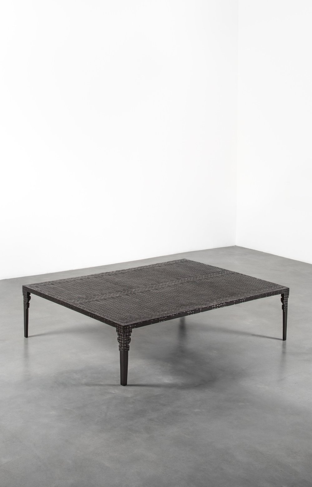 INGRID DONAT  TABLE BASSE KOUMBA (6 PAN PATINATED) | 2016