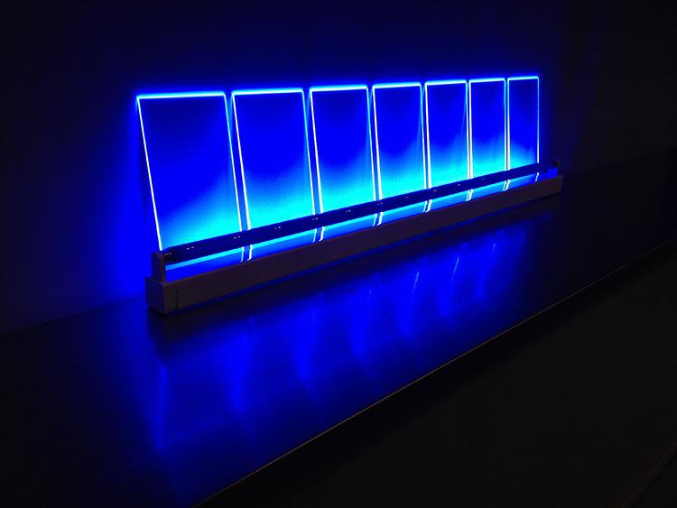 Seven Keys Mono Bleu