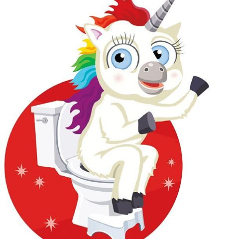 Shout out to Squatty Potty... Product Placement where you need it most! #dysfunktion #AllOutDysfunktion #ComingSoon
