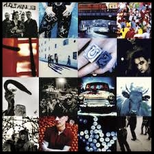 1991- ACHTUNG BABY  Acrobat Even Better than the Real Thing One Until the End of the World The Fly Love is Blindness Mysterious Ways Ultraviolet Who's Gonna Ride Your Wild Horses