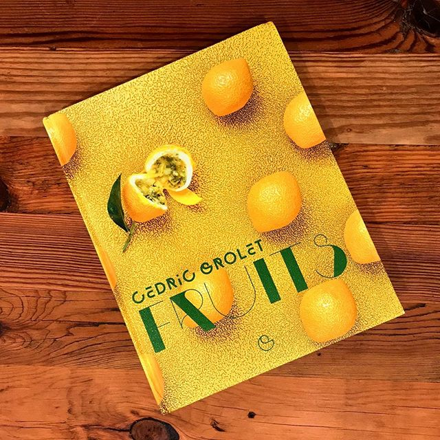 my birthday present!!! #fruits by chef @cedricgrolet 😱😍🤩. I am so thankful for the 6 months spent staging at hotel le meurice, learning from chef Cédric & the team, & tasting some of the best pastry creations ever.  love how this book is laid out, focusing on flavors instead of individual recipes or categories, w/ all the essential basics organized at the end.  it's perfect for replicating time-tested winners as well as trying new personal creations!!! love it!!! #cedricgrolet #pastry #pastrybook #yummy #pastryched #dessert #dessertlover