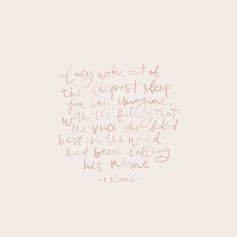 Calling Her Home || Free Download || CS Lewis Quote from Prince Caspian
