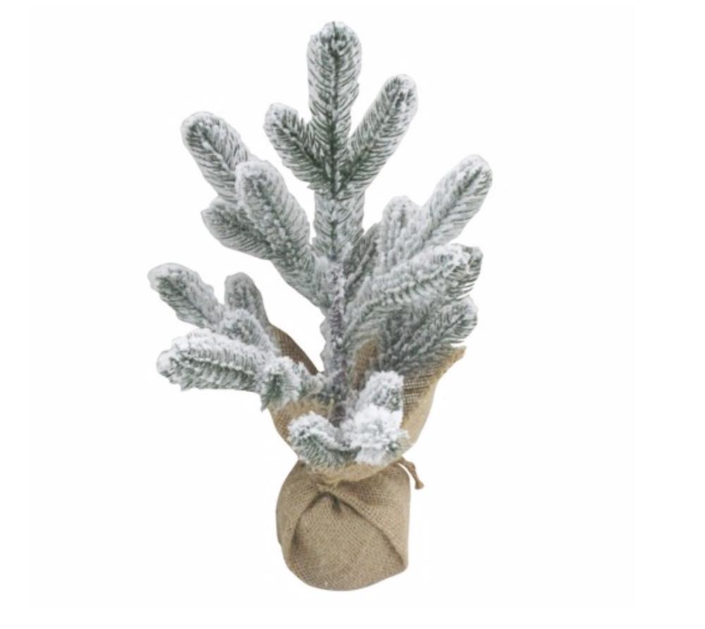 Mini Flocked Christmas Tree - Target