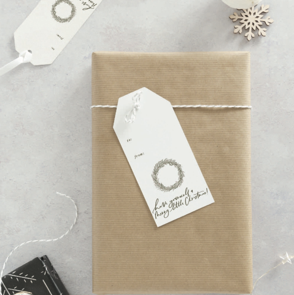 Christmas Gift Tags - M. Harris Design