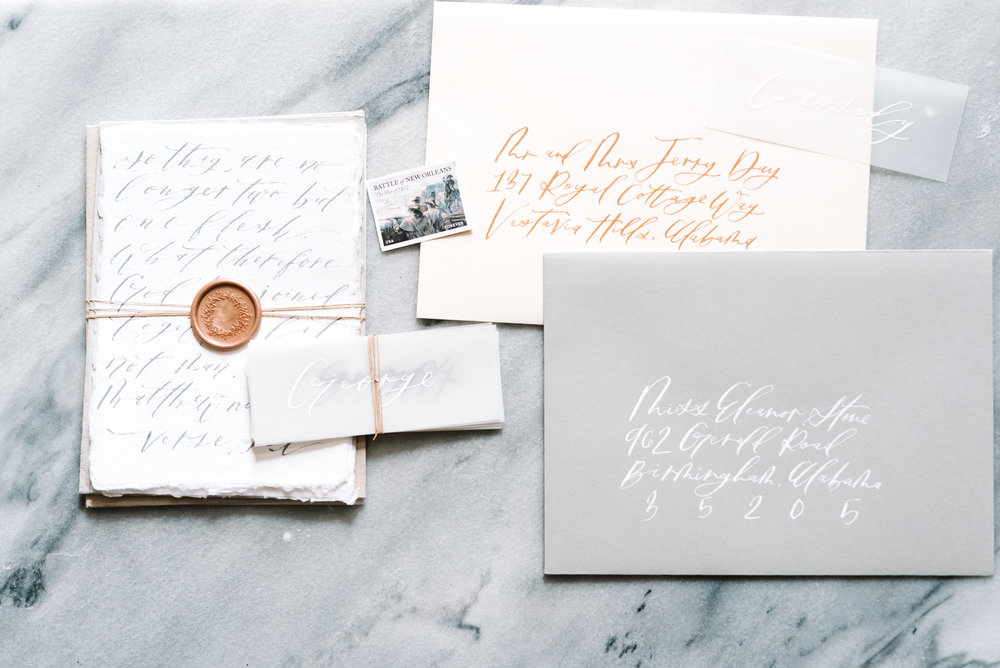 A Bride's Guide to Wedding Stationery | M. Harris Design