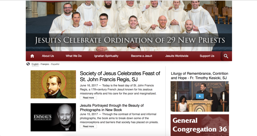 Jesuits.org | 2017