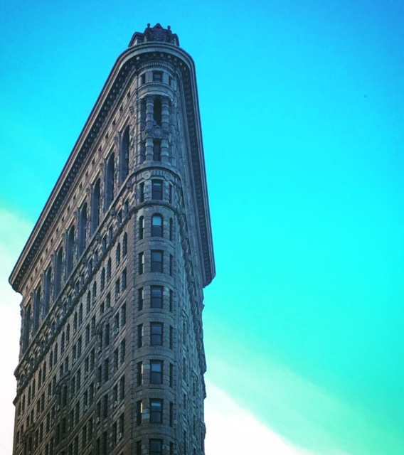 Flatiron building (med filter).