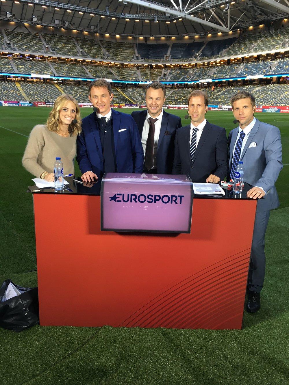 Det här gänget tar nya tag på lördag på Friends när Sverige möter Vitryssland i VM-kvalet