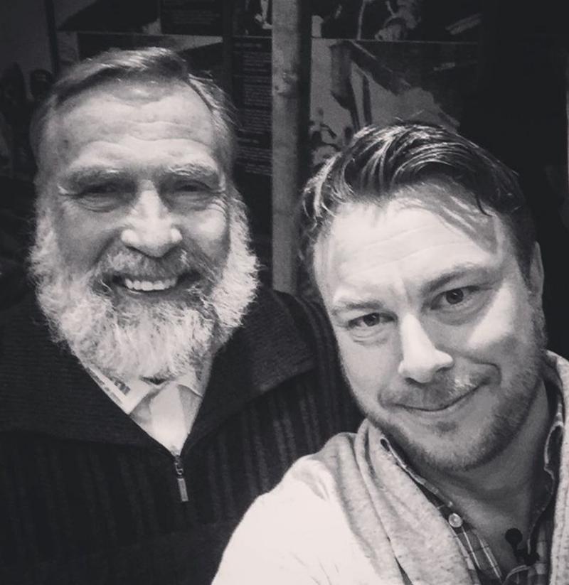 Vissa möte förtjänar en selfie. I finska Kurikkia intervjuade jag Juha Mieto. Skäggens okrönte konung, med enorm lungkapacitet och ett att varmt hjärta