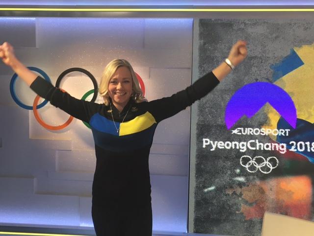 Frida firar! Besök i studion av en nybliven guldmedaljör slalom. Lätt att unna Hansdotter en fullträff, efter alla år i toppen och placeringar 2-5. Totalt vann Sverige båda slalomgulden i OS.