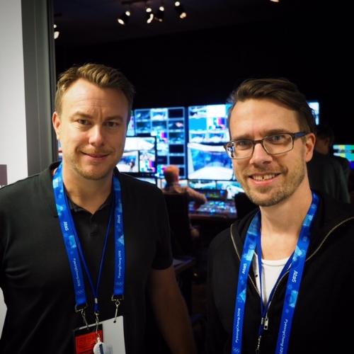 Bäste Bewarp. Redigerar-Anders och jag har klippt mycket tillsammans. Inför OS var det han som satte saxen i de åtta OS-program vi gjorde under 2017.