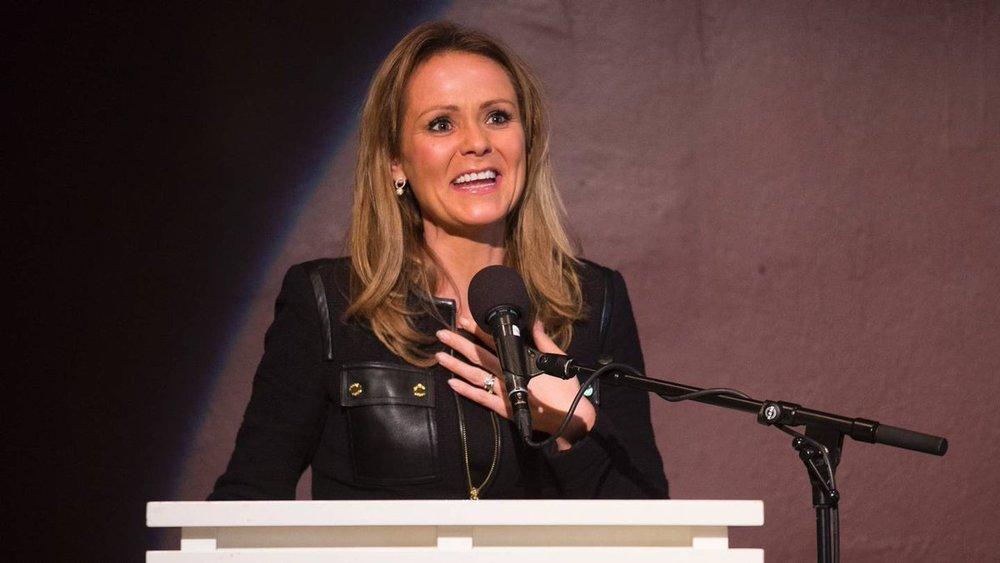 Linda Hofstad Helleland, 41, vicepresident i Wada och av bedömare en stark kandidat till chefsposten.