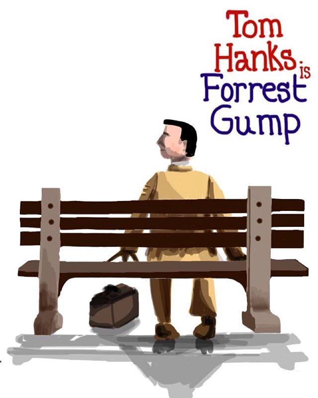 Forrest Gump #imposterposters #forrestgump #tomhanks #drama #robertzemeckis #runforrestrun #romcom #classic #movie #film #sketch #artwork #poster #iphoneart #instadaily #instagood #follow #sketchapp