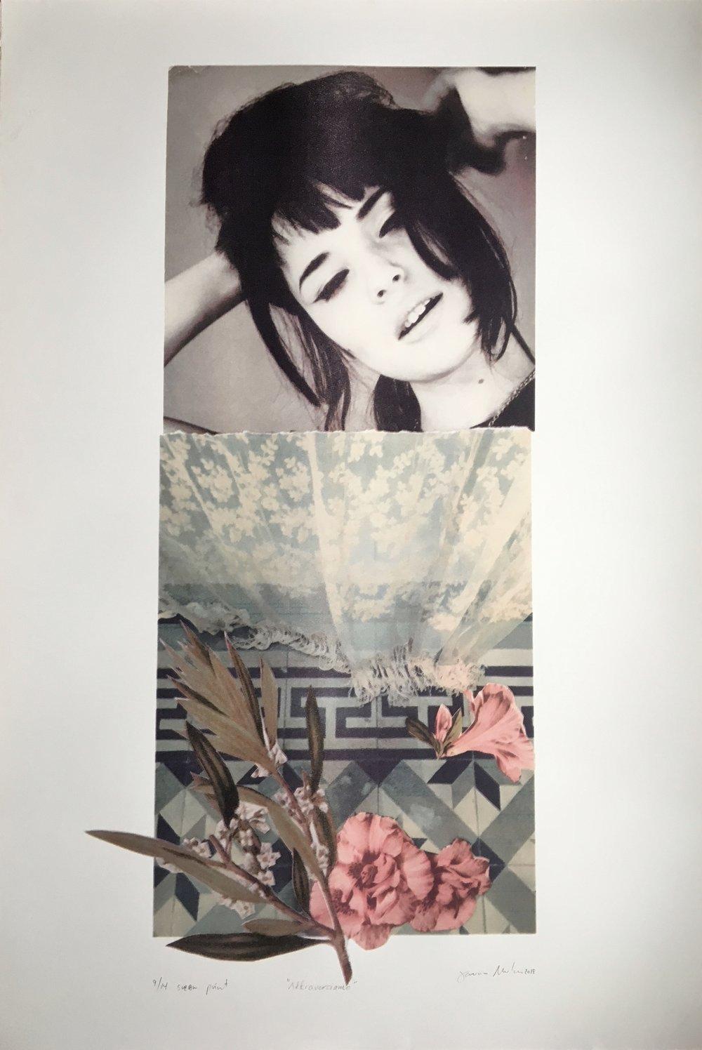 """""""attraversiamo"""", screen print, edition of 14, 76x112cm"""