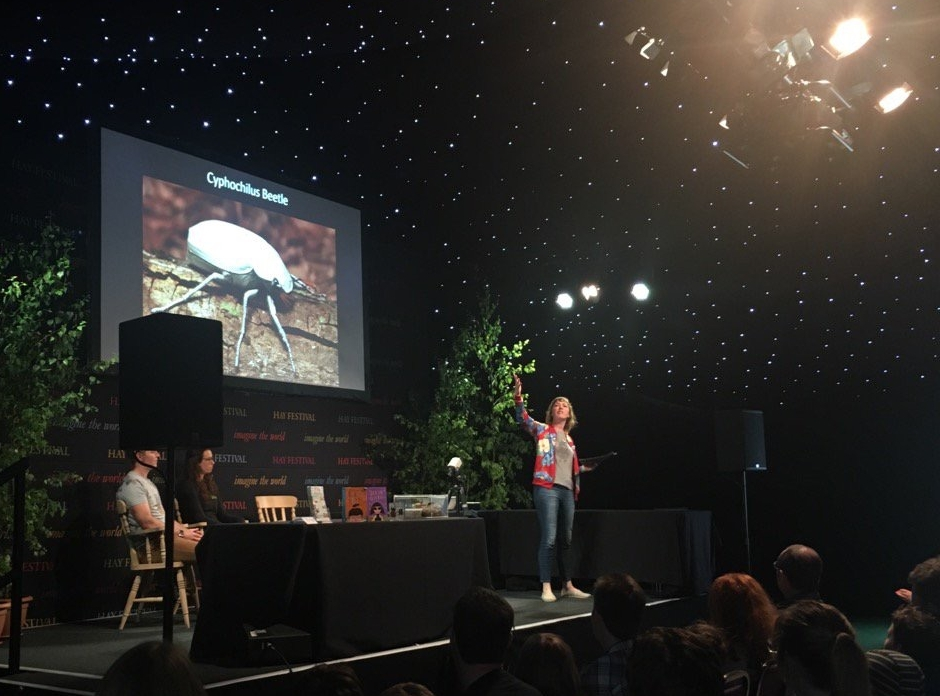 On the Starlight Stage at the Hay Festival 2017