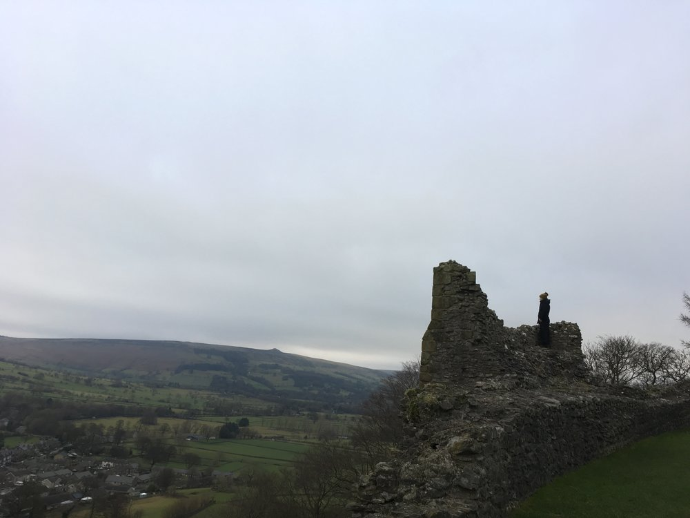 Morning in the Hope Valley - A view from Peveril Castle