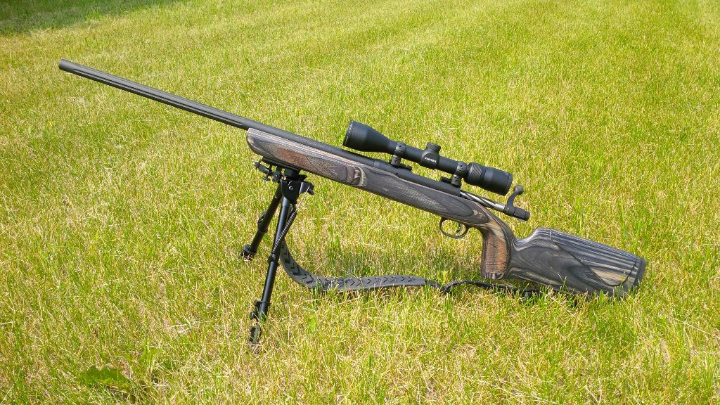 Mossberg MVP Varmint equipped with Butler Creek sling and Vortex Diamondback scope
