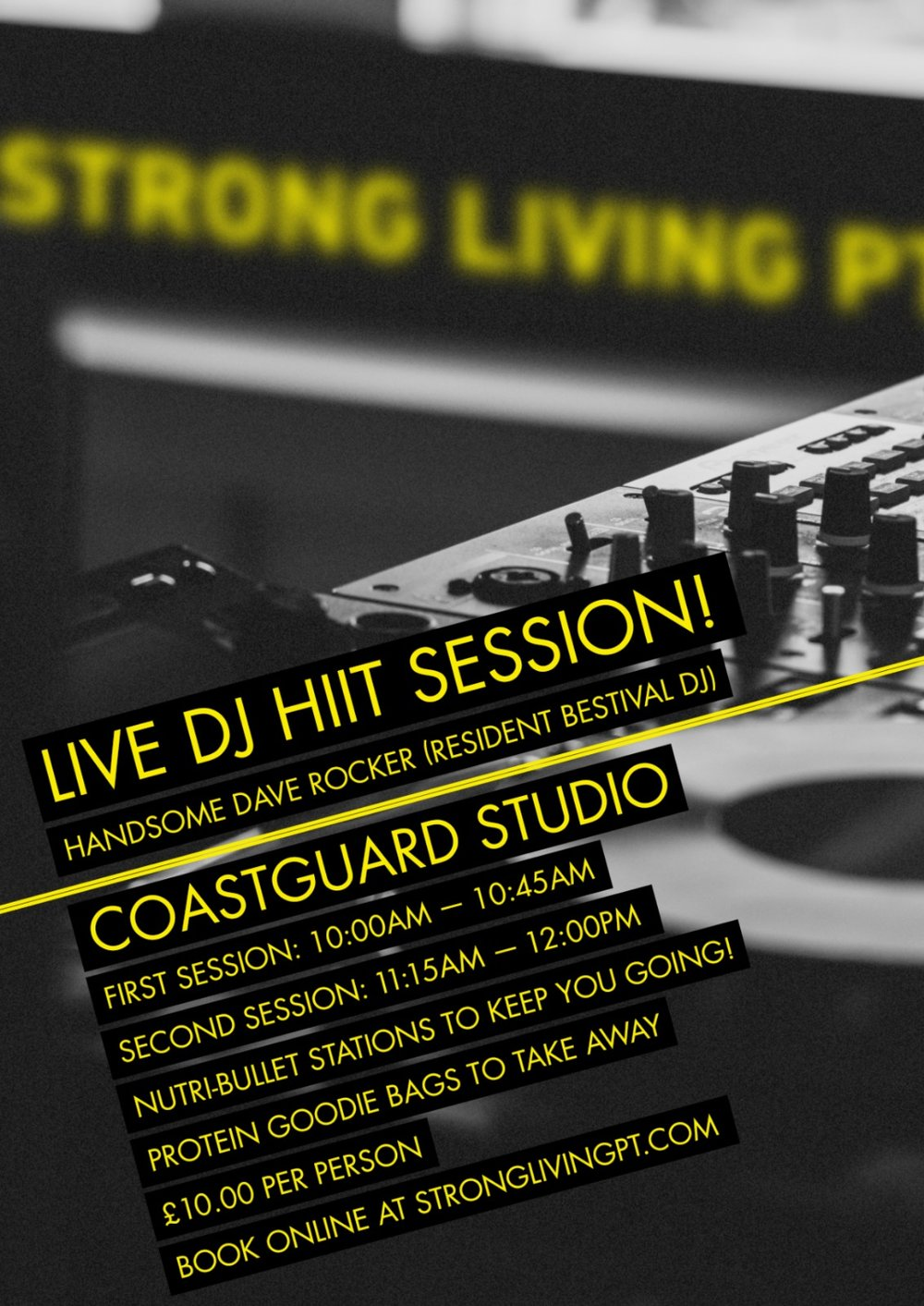 live dj HITT session