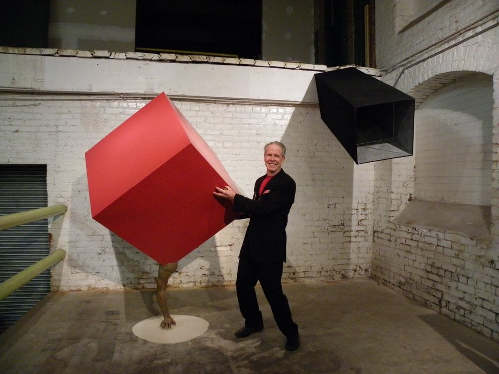 Handstand: Self-portrait, and Drishti