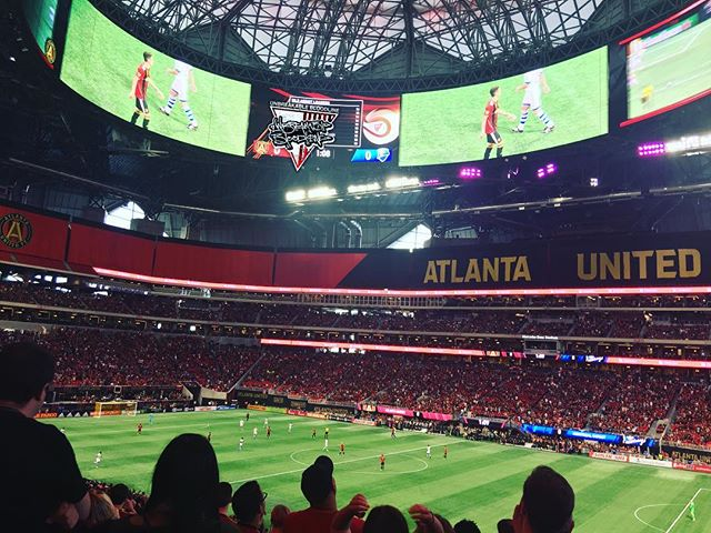 #unbreakablebloodline #mercedesbenzstadium #atlantaunited #abovethenoise