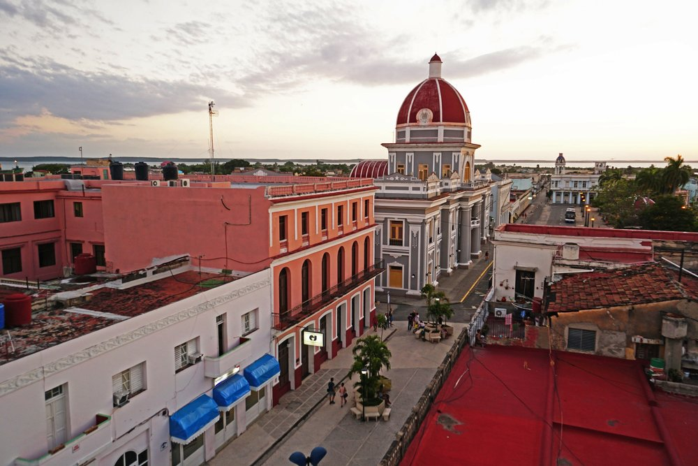 Cienfuegos - Walk the cobblestone streets and tour the beautiful colonial architecture of this historic city, today home to a vibrant community of artists