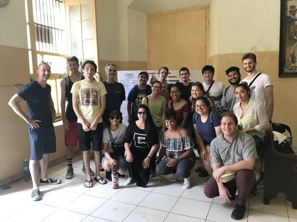 Jazz study in Cuba