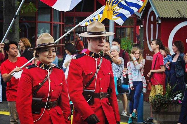 The Canada Day parade, featuring the first Mounties I've seen! • • • • • #vancity #enjoycanada #explorebc #imagesofcanada #tourcanada #yvr #parade #canadaday #portraitphotography #thankyoucanada #bc #vancitybuzz #britishcolumbia #portraiture #hellobc #canadasworld #portraitpage #makeportraits #explorealberta #beautifulbc #explorevancouver #explorecanada #vscorussia #vscofilm #letsgosomewhere #vscophile #portraits_ig #portraitoftheday #mountie #mounties