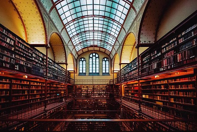 Four stories of books in the Research Library @rijksmuseum Shhh people are trying to work! • • • • • #library #books #read #stories #nook #bookworm #iamsterdam #page #amsterdamworld #igersamsterdam #bookstagram #bestofamsterdam #amsterdamlife #iloveamsterdam #igersholland #amsterdamshots #imagine #booklovers #bibliophile #bookaddict #bookstagramfeature #instabooks #bookporn #yalit #bookstagrammer #igtravel #mytravelgram #traveladdict #travelblogger #rijksmuseum