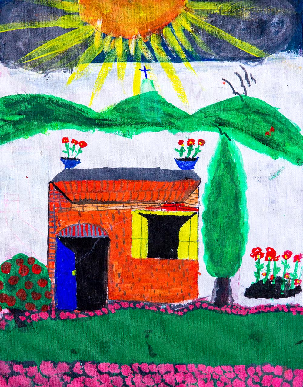 The Library - María Soledad Trejo Muñóz, Age 10 (2015)