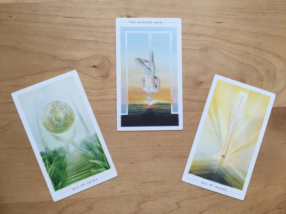 Cards from the stunning  Fountain Tarot