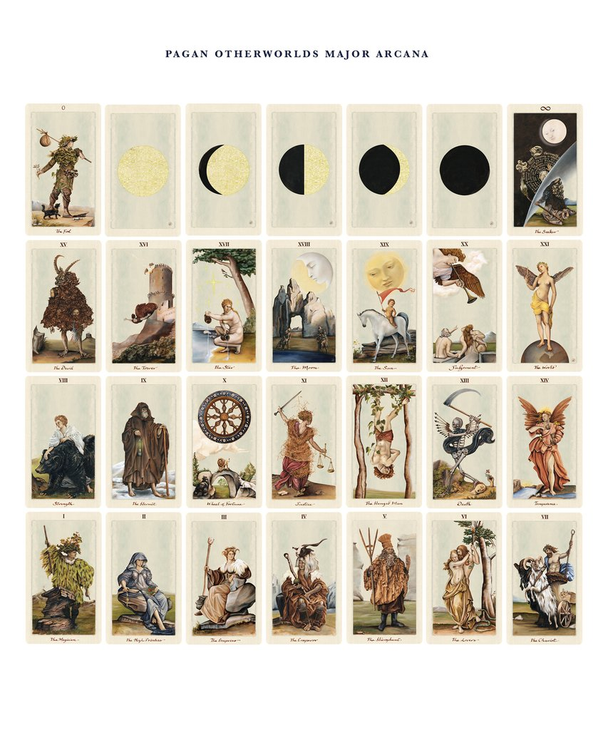 Those moon phase cards! Irresistible.