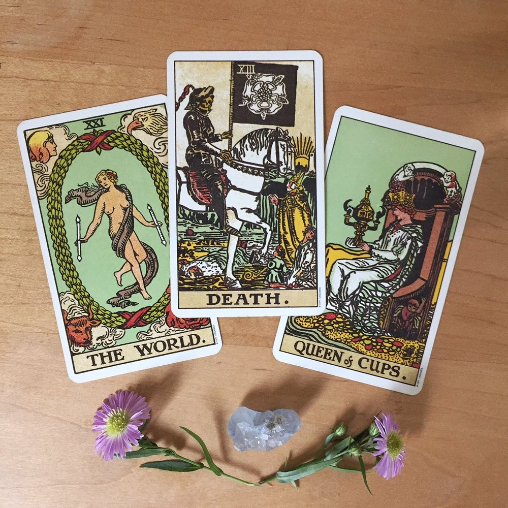 Cards from the Rider-Waite-Smith Tarot