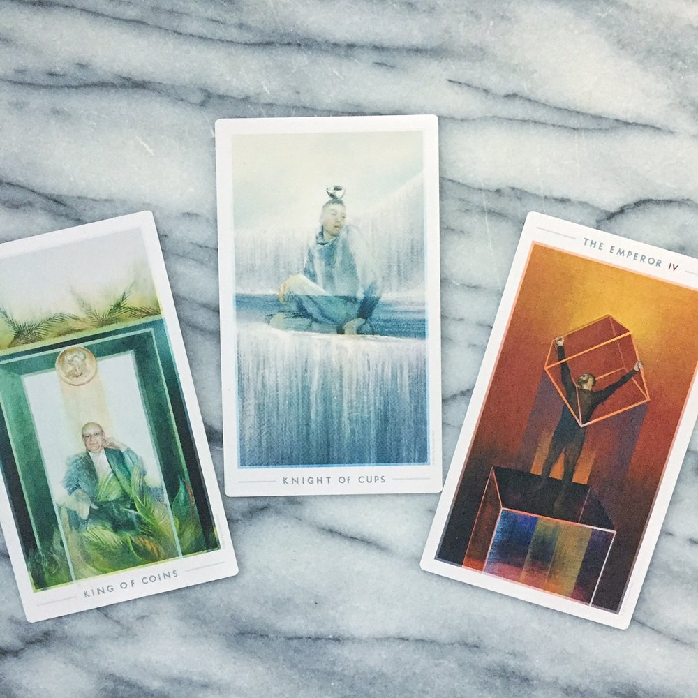 Cards from the Fountain Tarot