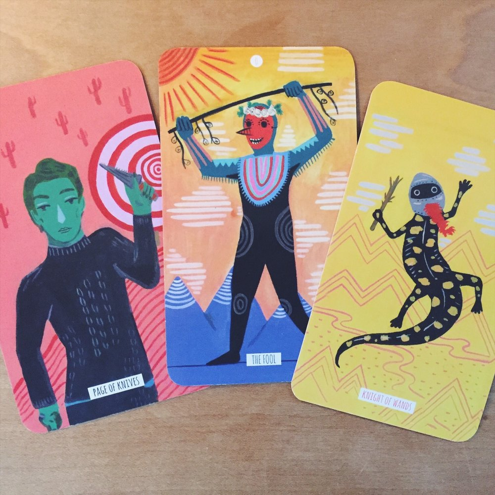 Cards from  The Circo Tarot