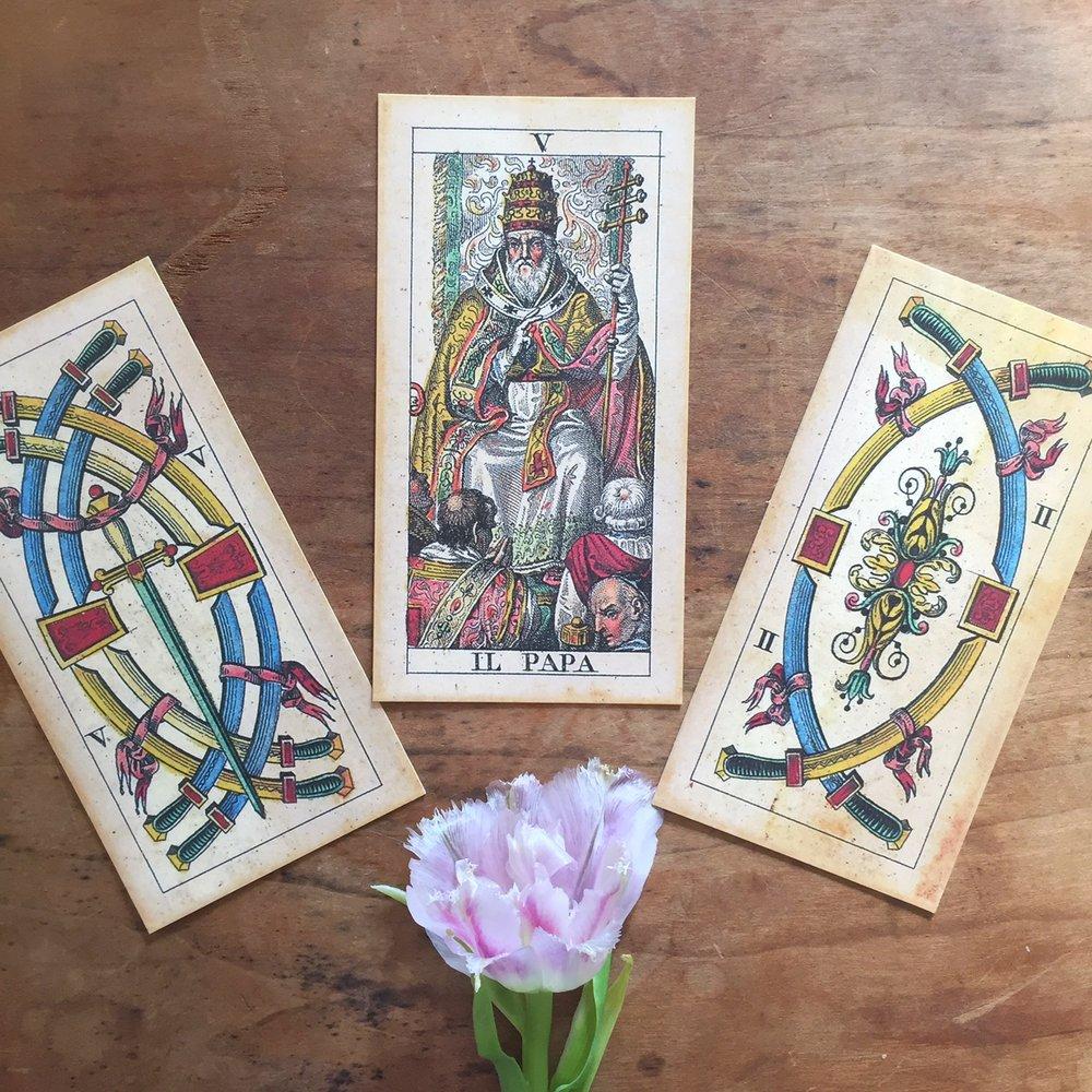 Cards: The Soprafino Tarot