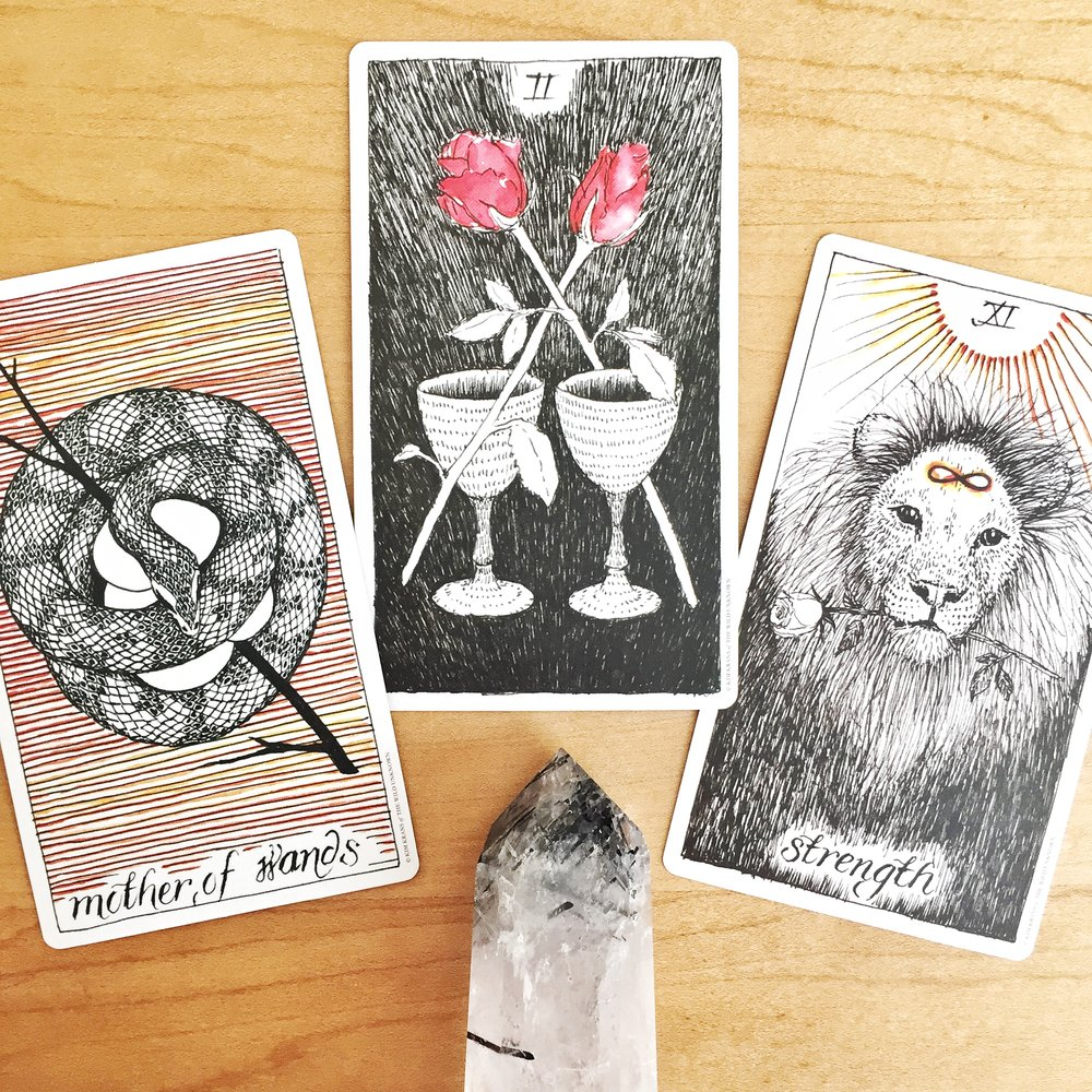 Tarot reading with The Wild Unknown Tarot