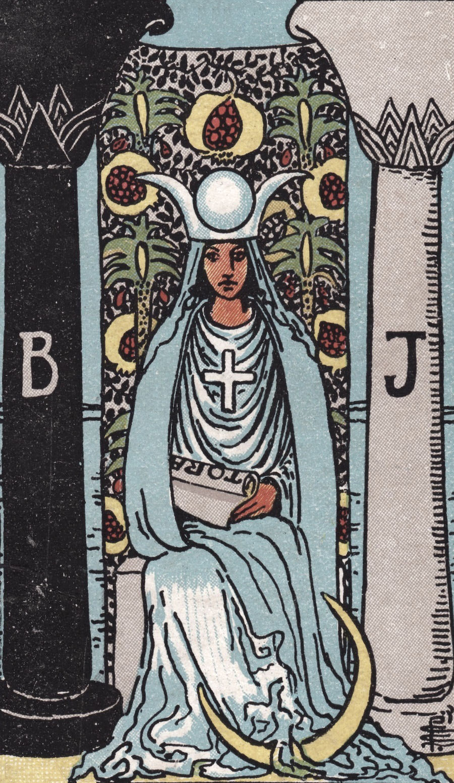 High Priestess Tarot Card
