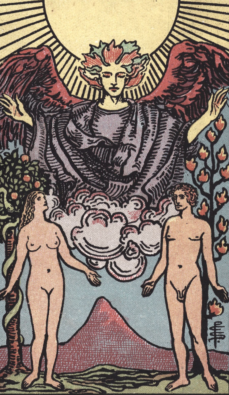The Lovers Rider Waite Tarot Card Meaning