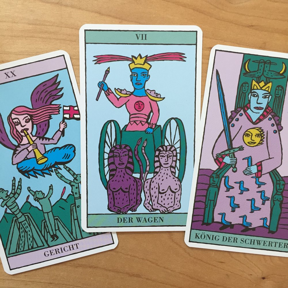 Tarot Reading with Kitty Kahane Tarot