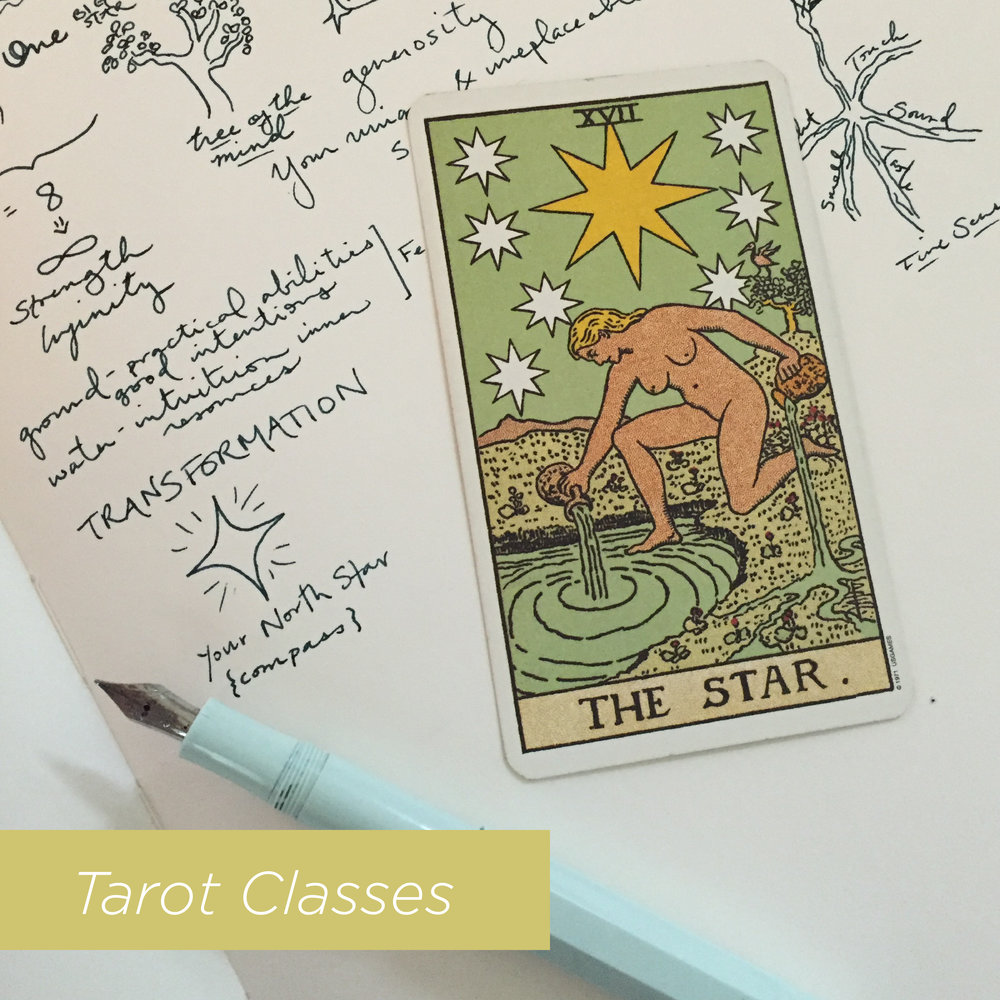 Tarot Classes in Durham, NC with Incandescent Tarot