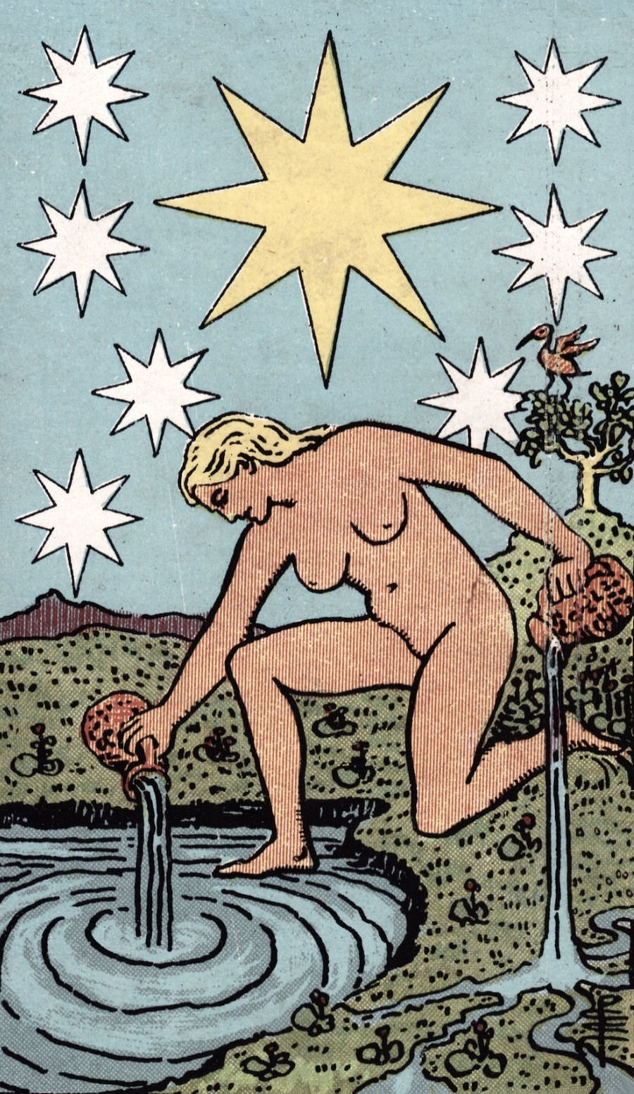 The Star Ride Waite Tarot Card