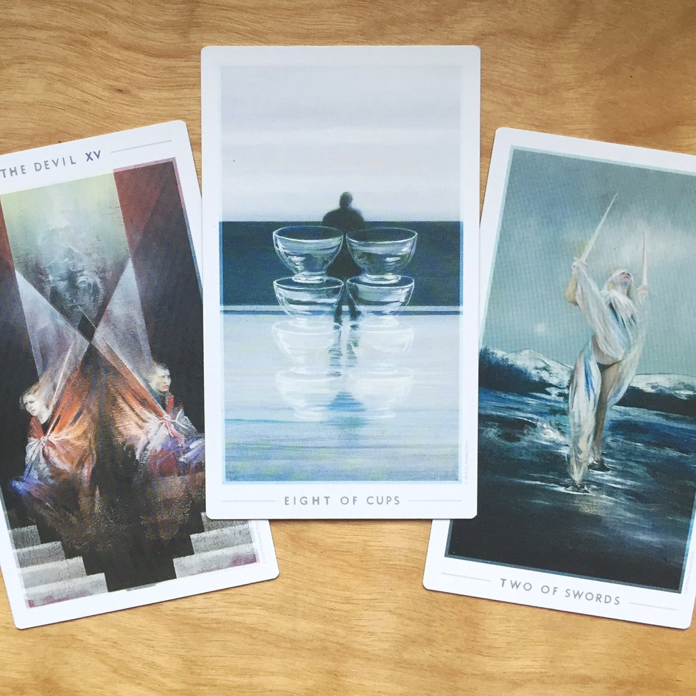 Fountain Tarot 3 Card Reading