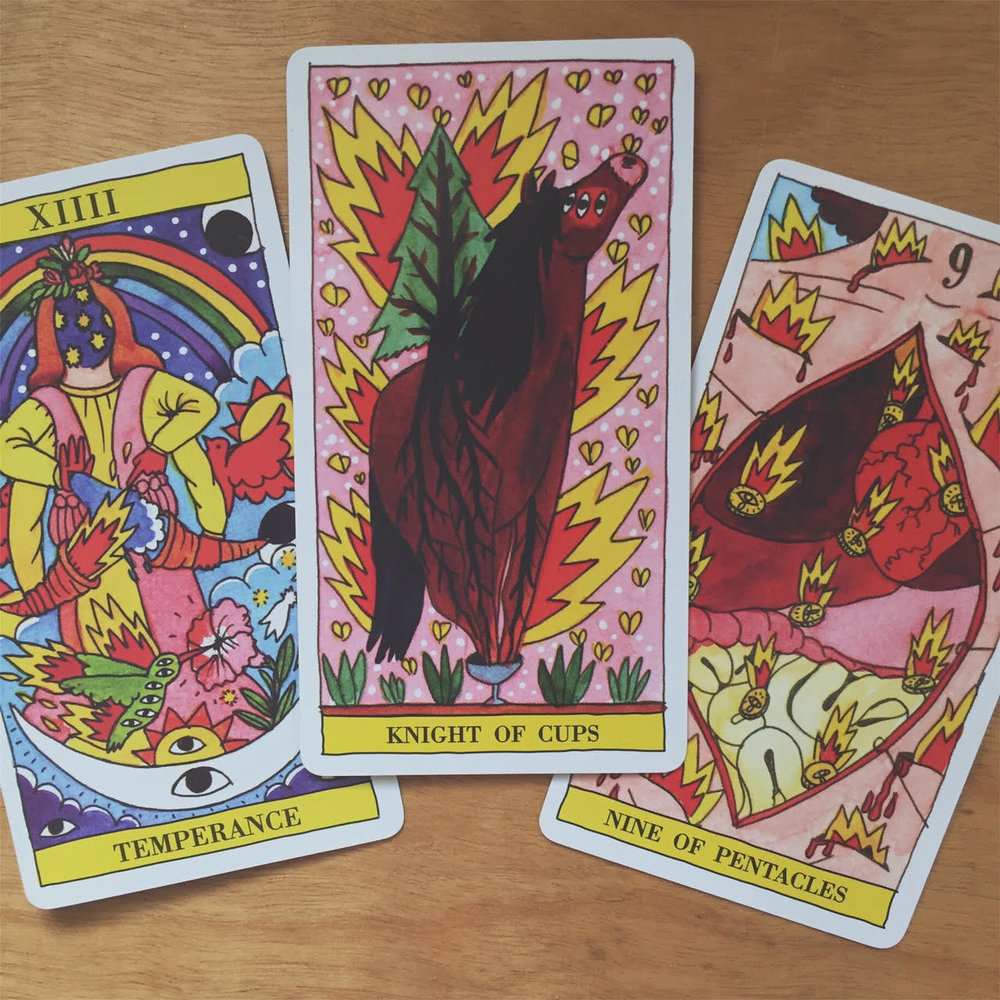 Tarot Reading with the Tarot del Fuego