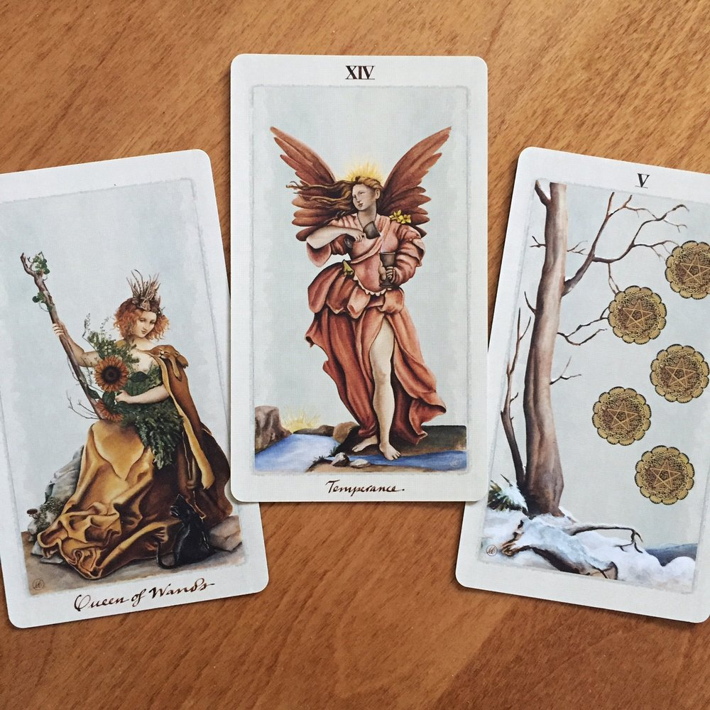 Tarot Reading with the Pagan Otherworlds Tarot