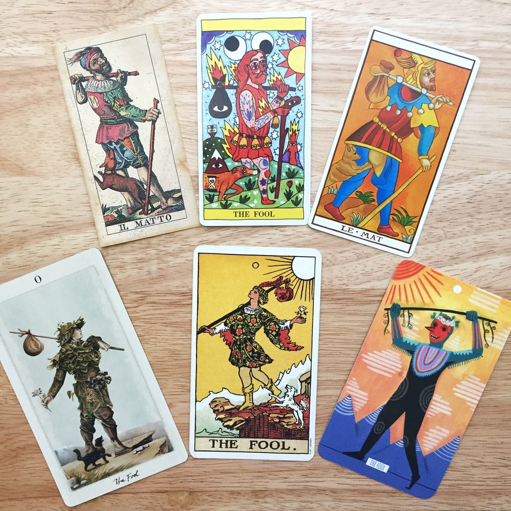The Fool Tarot Card Pagan Otherworlds Circo Tarot Soprafino Tarot Marseilles